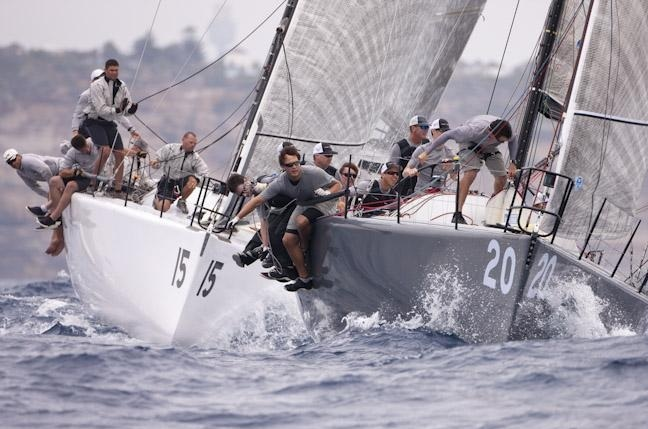 Flash Gordon and Edake at the top mark | photo Andrea Francolini