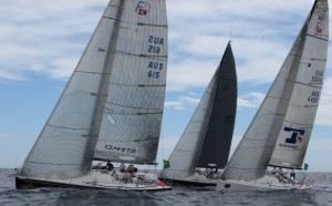 Three Boat Match Racing in Rolex Trophy-Photo Erin McKnight